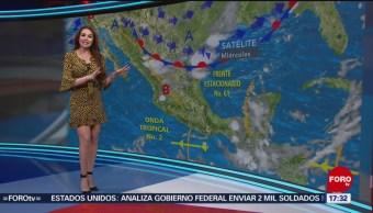 Foto: El clima con Mayte Carranco del 12 de junio de 2019