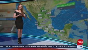 Foto: El clima, con Mayte Carranco del 20 de junio de 2019