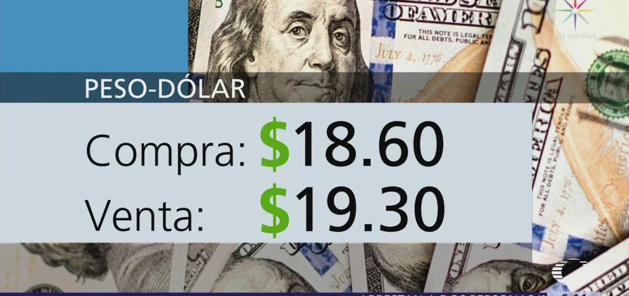 El dólar se vende en $19.30