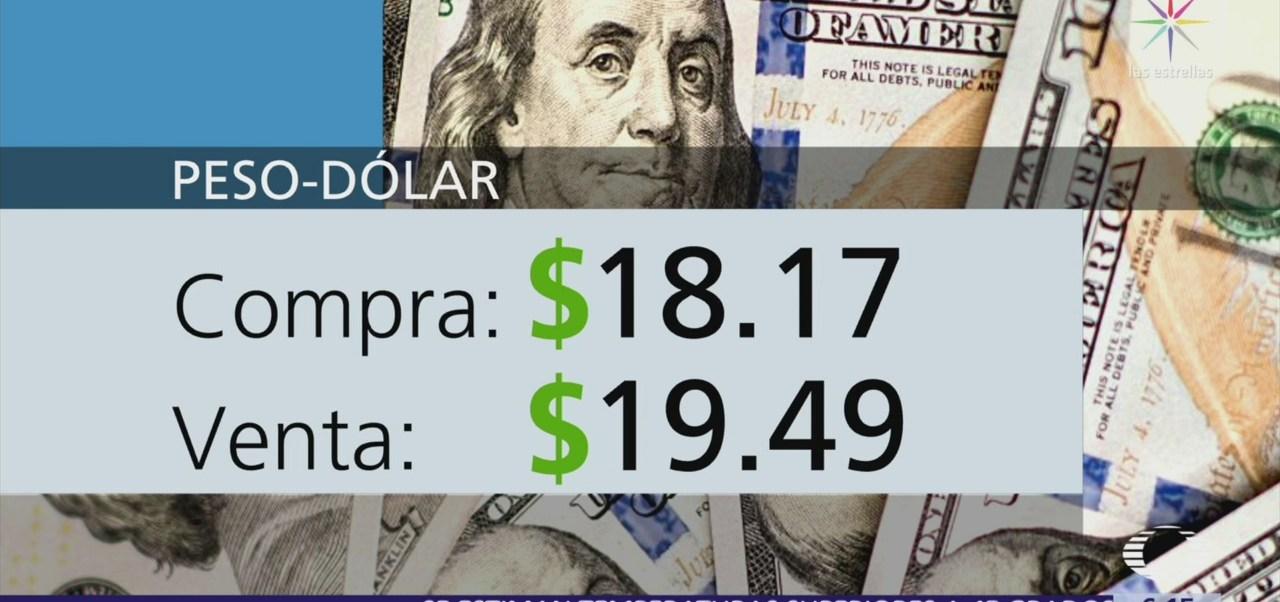 El dólar se vende en $19.49