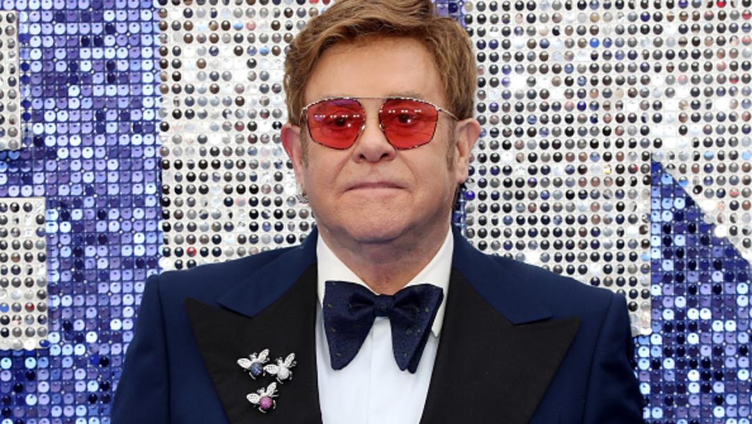 Foto: El cantante británico Elton John, 29 junio 2019