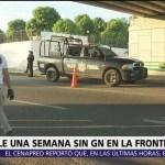 En Chiapas, aún esperan el despliegue de la Guardia Nacional