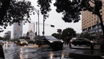 Alerta amarilla por precipitaciones en toda la Ciudad de México