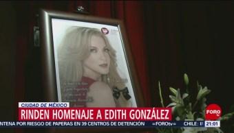 Foto: Homenaje Edith González Teatro Jorge Negrete 14 Junio 2019