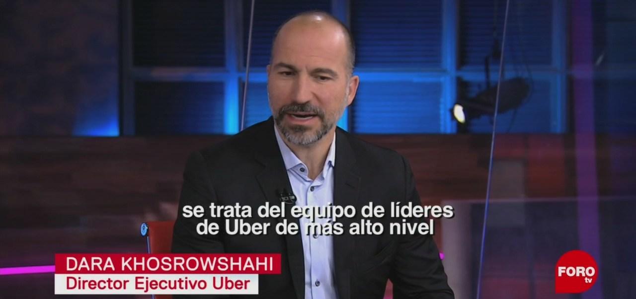 FOTO: Entrevista con director global de Uber, 30 Junio 2019