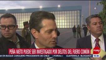 Foto: Epn Investigado Delitos Fuero Común SCJN 19 Junio 2019