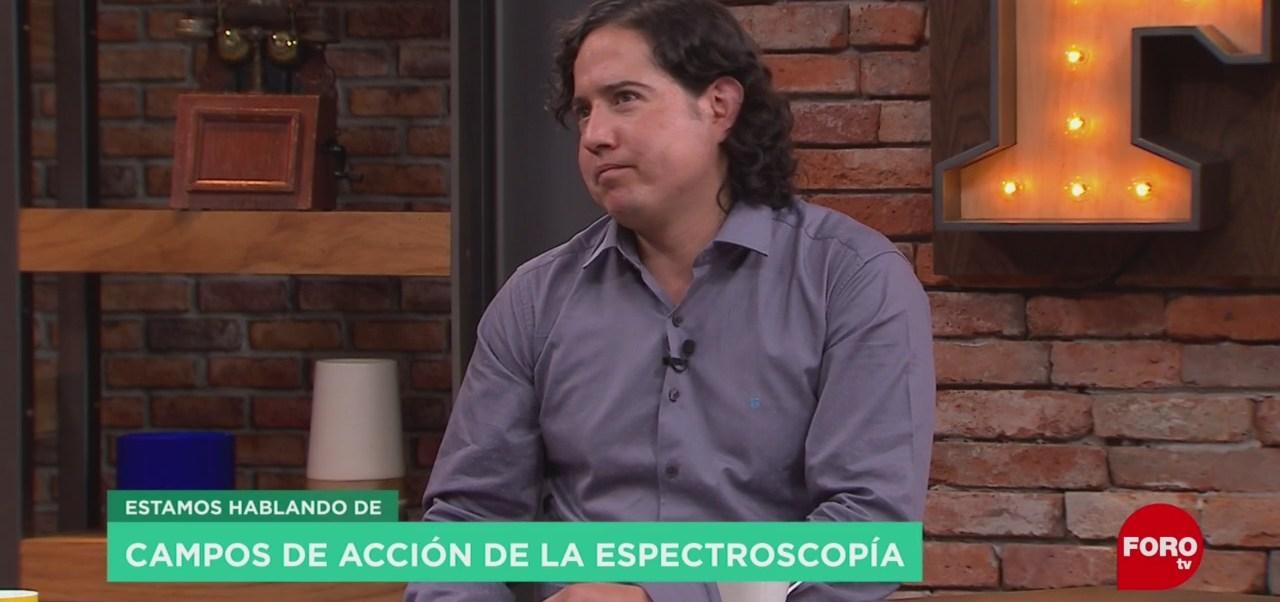 FOTO: Estudios de la espectroscopia en la UNAM, 16 Junio 2019