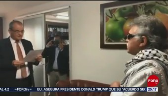 Foto: Exguerrillero Las Farc Juramenta Congresista Colombia Jesús Santrich 11 Junio 2019
