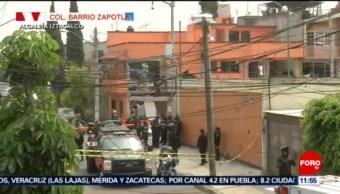 Explosión en vivienda por acumulación de gas en Iztacalco, CDMX