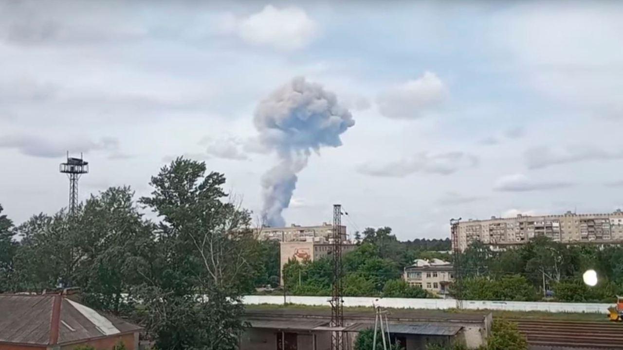 Foto: Explosiones en una fábrica de munición en la región rusa de Nizhni Nóvgorod dejan al menos 42 heridos, 1 junio 2019
