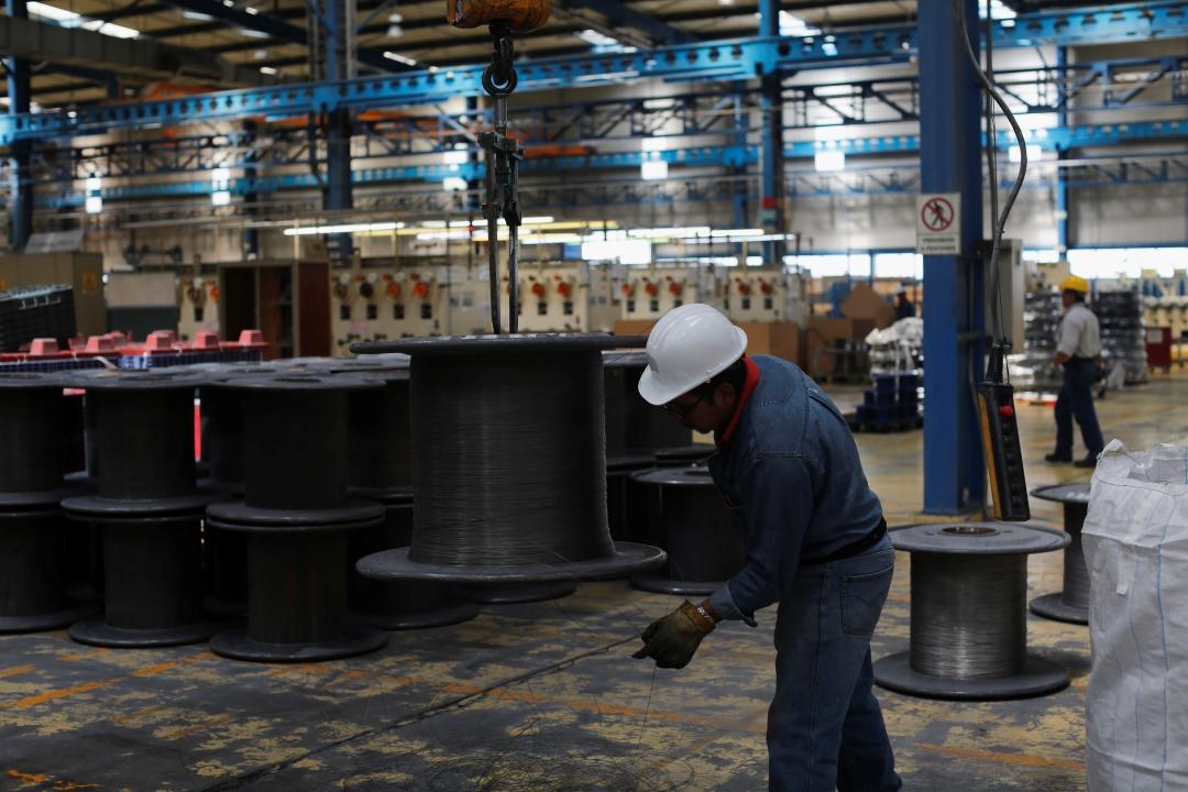 Foto: Fábrica de acero inoxidable en Tlaxcala, 16 de octubre de 2013, México