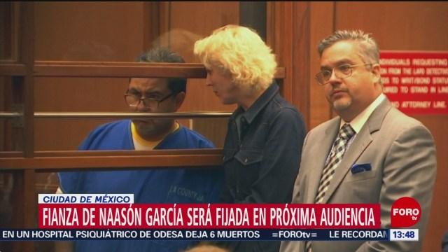 FOTO: Fianza de Naasón Joaquín García será fijada en próxima audiencia