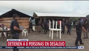 Foto: Fiscalía Chiapas Recupera Predio Invadido Hace 8 Años 14 Junio 2019