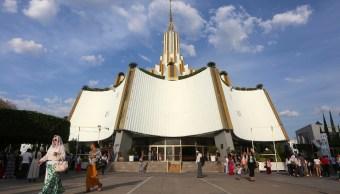 Foto: Sede de la Iglesia de La Luz del Mundo en la ciudad de Guadalajara, México. El 9 de junio de 2019