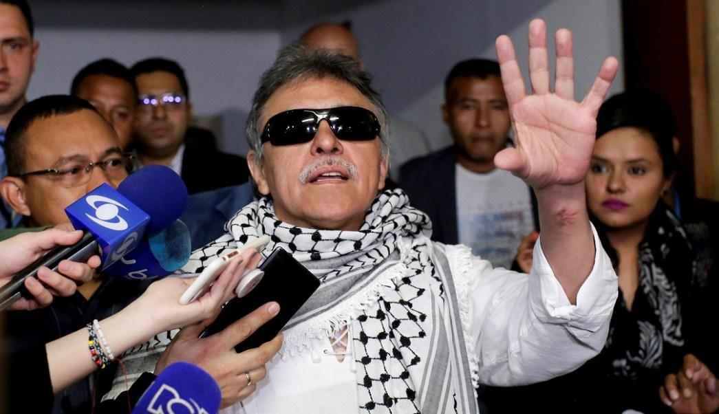 Foto: Exjefe guerrillero de las FARC Jesús Santrich. El 11 de junio de 2019