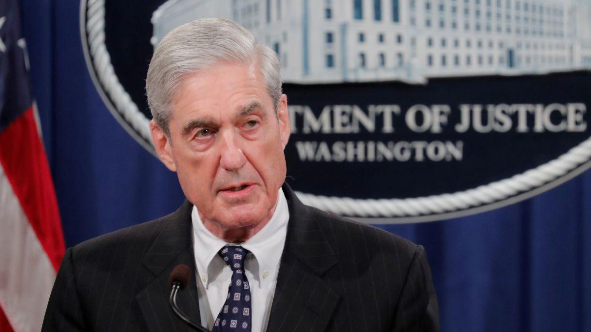 Foto: Robert Mueller, fiscal especial de caso Rusiagate. El 29 de mayo de 2019