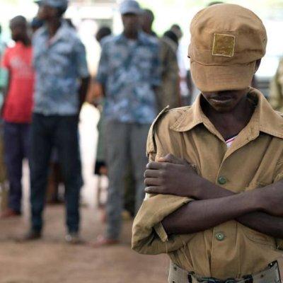 Niños soldados se entregan a misión de la ONU en el Congo