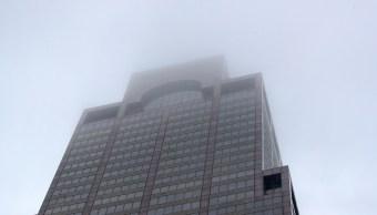 Foto: Un helicóptero se estrelló en un edificio del 787 7th en Manhattan, Nueva York, EEUU. El 10 de junio de 2019