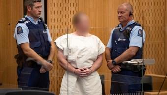Foto: Brenton Tarrant comparece en un Tribunal de Distrito de Christchurch, Nueva Zelanda. El 16 de marzo de 2019