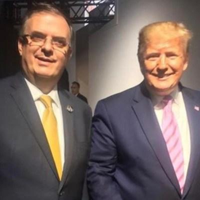 Trump agradece medidas migratorias de México en reunión con canciller en G20