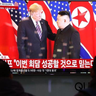 Trump se reuniría con Kim en zona desmilitarizada de Corea