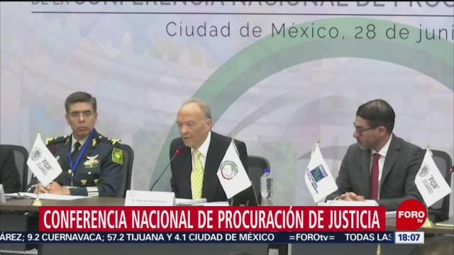 FOTO: Gertz Manero explica funciones del Ministerio Público