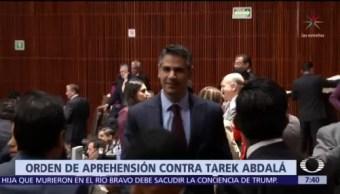 Giran orden de aprehensión contra exdiputado Tarek Abdalá
