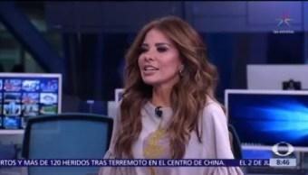 Gloria Trevi, diosa de la noche, en entrevista para Al Aire