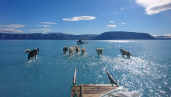 Foto Groenlandia Deshielo 18 Junio 2019