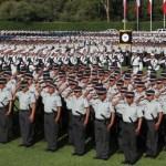 Foto: Elementos de la Guardia Nacional en el Campo Marte, Ciudad de México, 30 junio 2019
