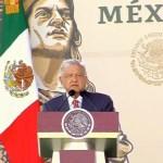 Foto: El presidente de México, Andrés Manuel López Obrador, en el Campo Militar Marte, 30 junio 2019