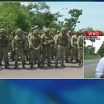 Guardia Nacional realiza recorrido de vigilancia en la frontera con Guatemala