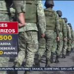 Foto: Guardia Nacional Vigilará Frontera Sur 26 Junio 2019