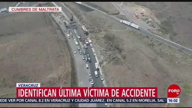 FOTO: Identifican última víctima de accidente de peregrinos en Veracruz, 1 Junio 2019