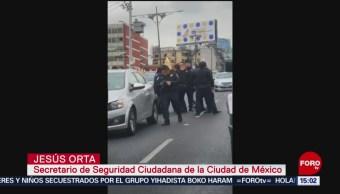 FOTO: IInvestigan abuso policíaco contra joven en Viaducto
