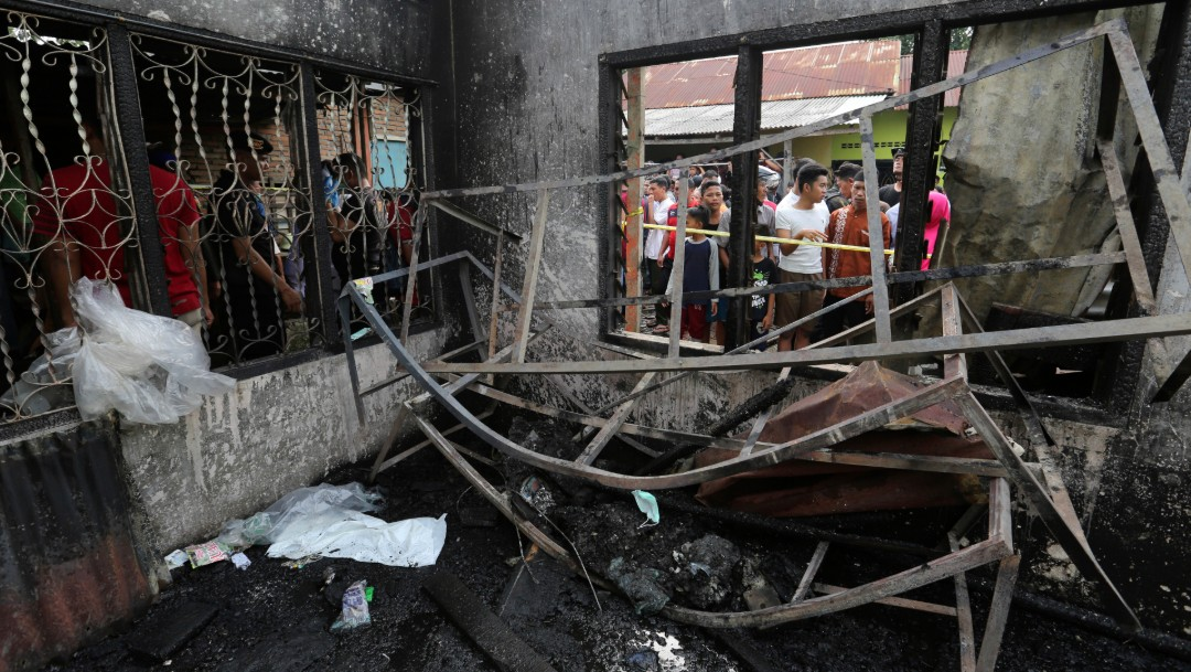 FOTO: Incendio en fábrica de Indonesia deja 30 muertos, 21 de junio de 2019, Indonesia