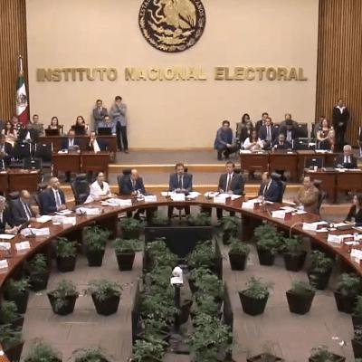 INE exhorta a respetar leyes electorales en voto del 2 de junio