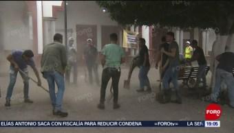 Foto: Limpieza San Gabriel Jalisco Muertos Desbordamiento 5 Junio 2019