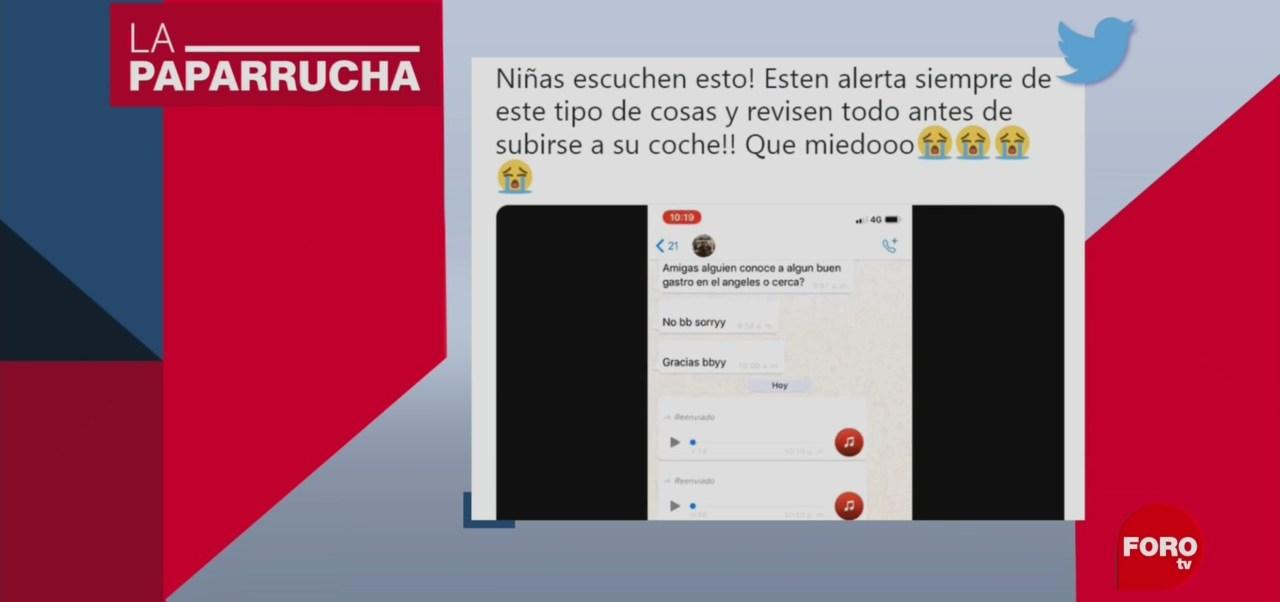 Foto: Cadena Whatsapp Noticias Falsas Modus Operandi Robo Cajuela18 Junio 2019