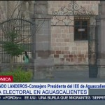 FOTO: Instalan 100% de las casillas en jornada electoral en Aguascalientes, 2 Junio 2019