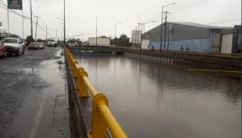 Foto: inundación por lluvia en Guanajuato, 5 de junio 2019. Twitter @PC_GTO
