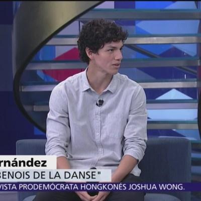 Isaac Hernández habla de su trayectoria en el ballet
