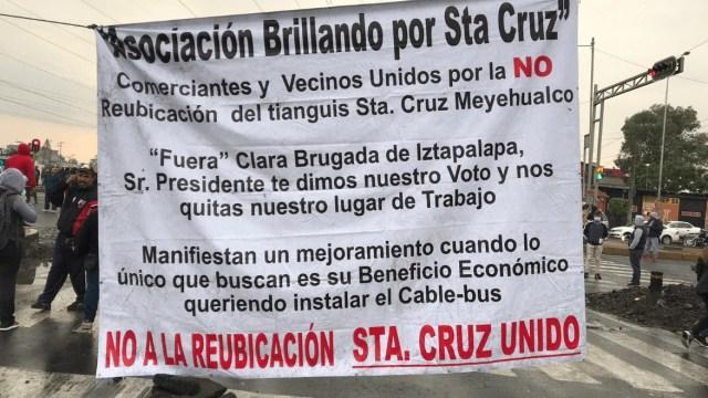 Iztapalapa: Alcaldía respetará empleos de tianguis Santa Cruz Meyehualco