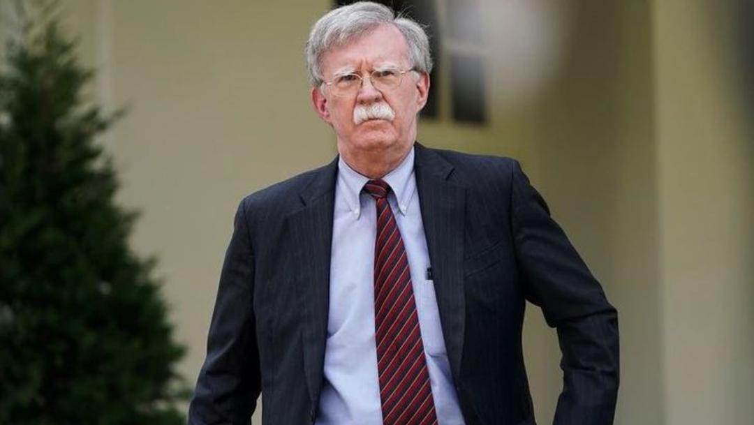 Fotografía del asesor de seguridad nacional de Estados Unidos, John Bolton, 23 junio 2019