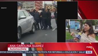 Foto: Joven Agredida Policías Viaducto Denuncia 25 Junio 2019
