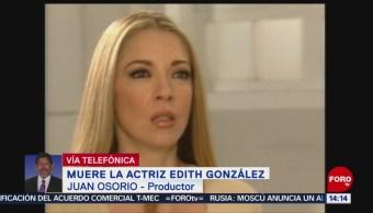 FOTO: Juan Osorio recuerda a Edith González: Siempre tuvo claro qué quería