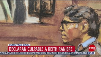 Foto: Keith Raniere Culpable Cargos Líder Secta Culto Sexual 19 Junio 2019