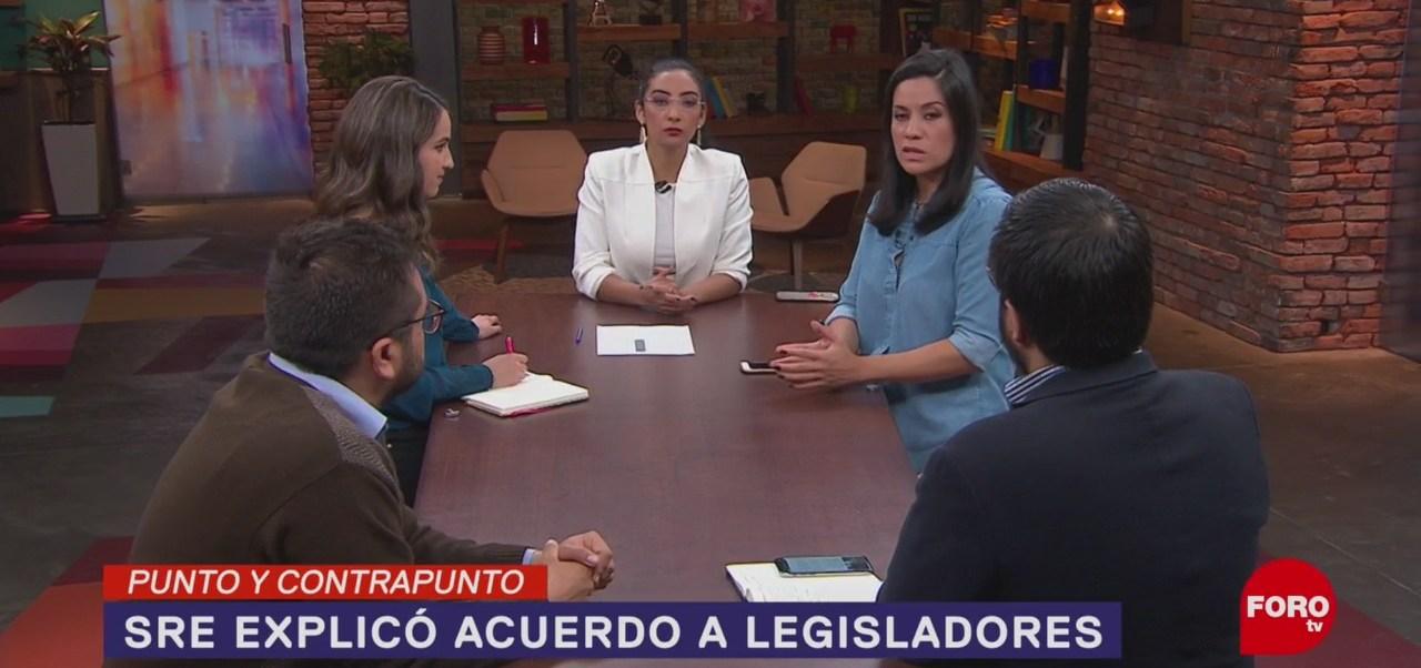 Foto: Comparecencia Ebrard Senado 17 Junio 2019