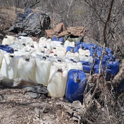 Aseguran otro laboratorio clandestino en Culiacán, Sinaloa; van 24