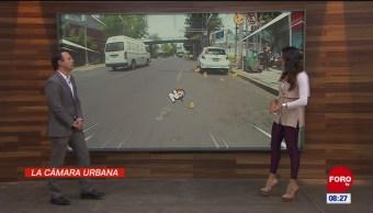 #LaCámaraUrbana en Expreso: Coche estacionado en vuelta a la derecha